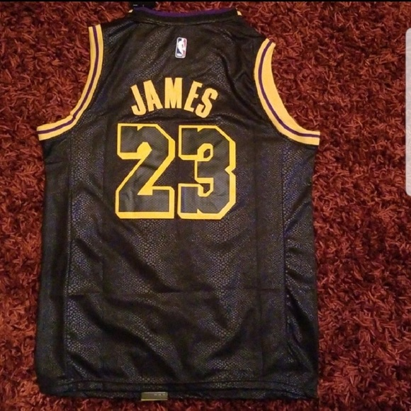 NWT Lebron James Los Angeles Lakers Mamba Jersey 20f0f24c1